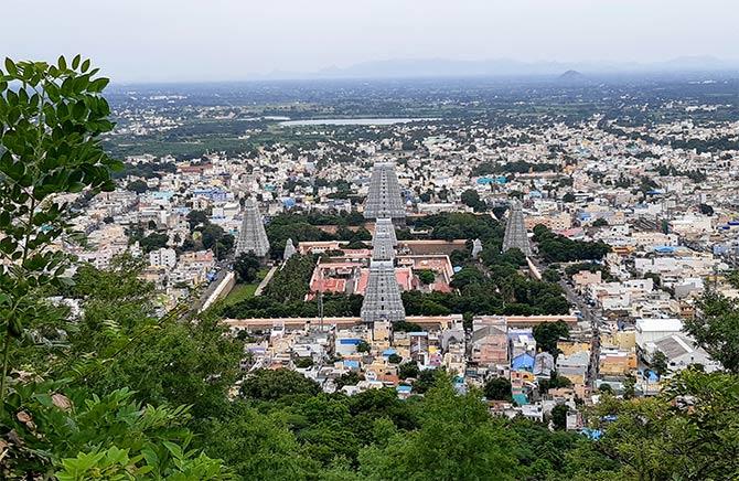 In pix: The temple town of Tiruvannamalai