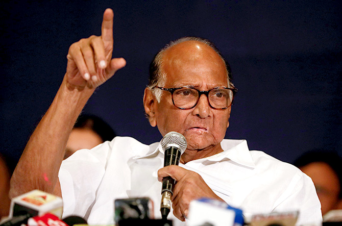 Knew that Ajit and Fadnavis are in talks, says Pawar