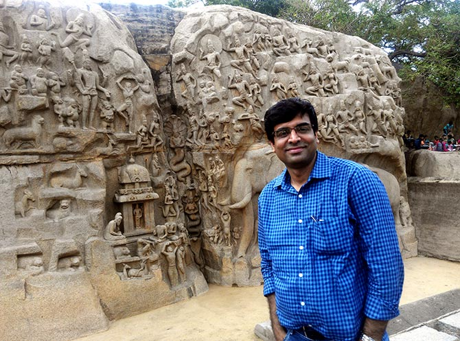 PIX: When I visited the Shore Temple in Mahabalipuram