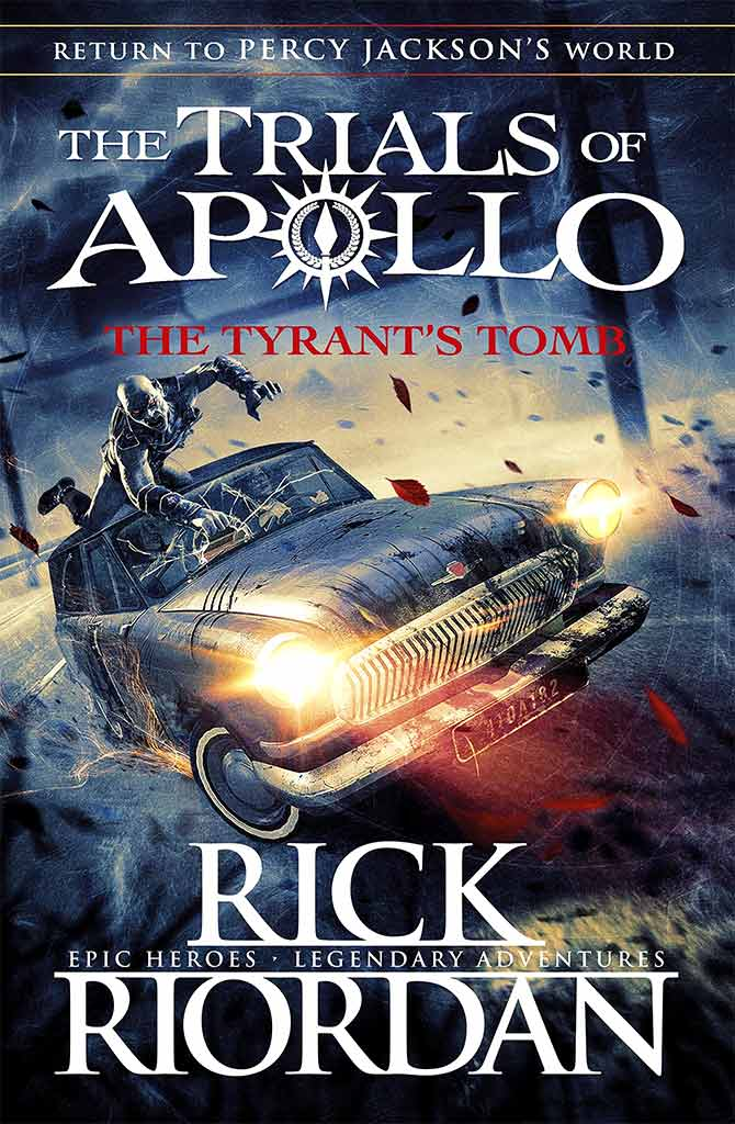 Contest! WIN a free copy of Rick Riordan's latest book