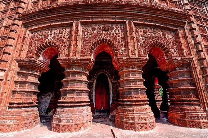 Hanseshwari temple in Bansberia, West Bengal