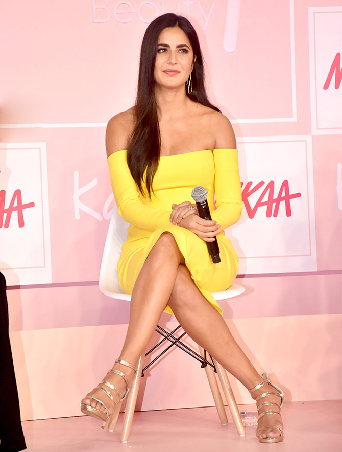 Katrina Kaif at the launch of Kay by Katrina