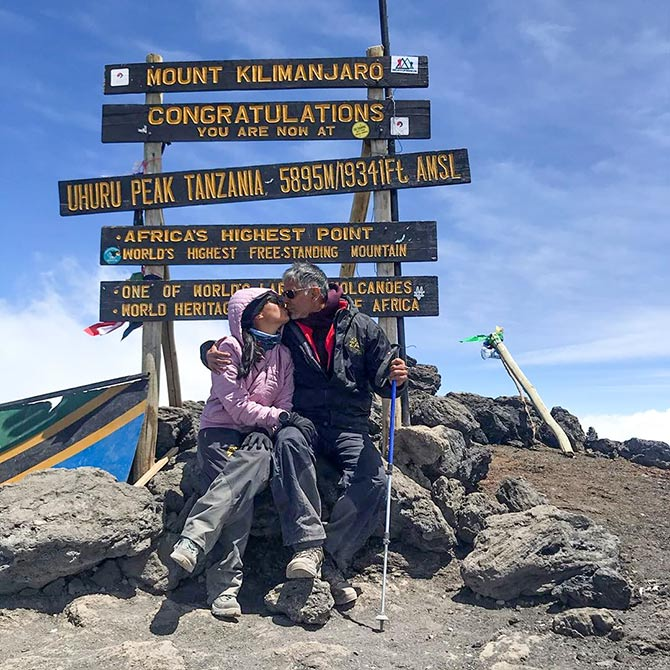 Inspiring! Milind-Ankita's adventurous holiday