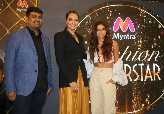 Sonakshi Sinha launches Myntra fashion superstar
