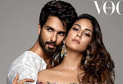 Can you feel the chemistry between Shahid and Mira?