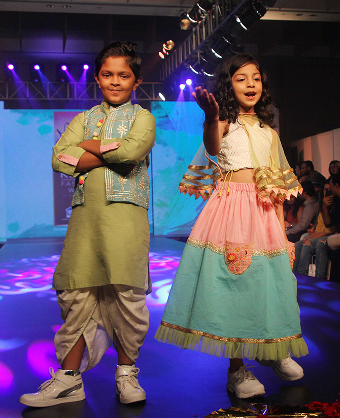 India kids fashion week 2019
