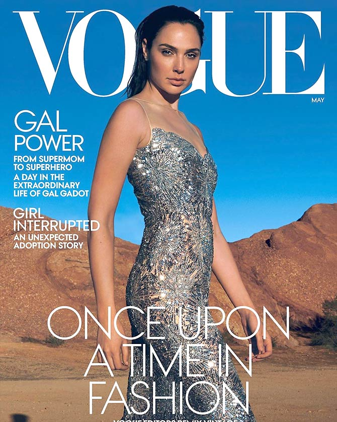 Gal Gadot on Vogue May issue
