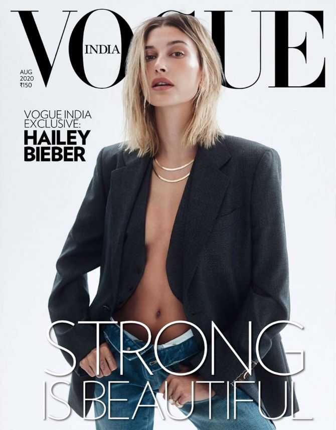 Hailey Barber on Vogue India cover