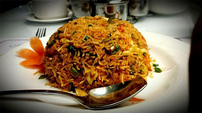 Vegetable Pot Biryani