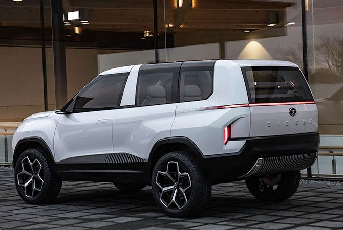 The Tata Sierra Concept