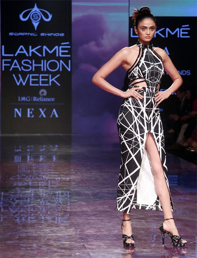 Swapnil Shinde at Lakme Fashion Week
