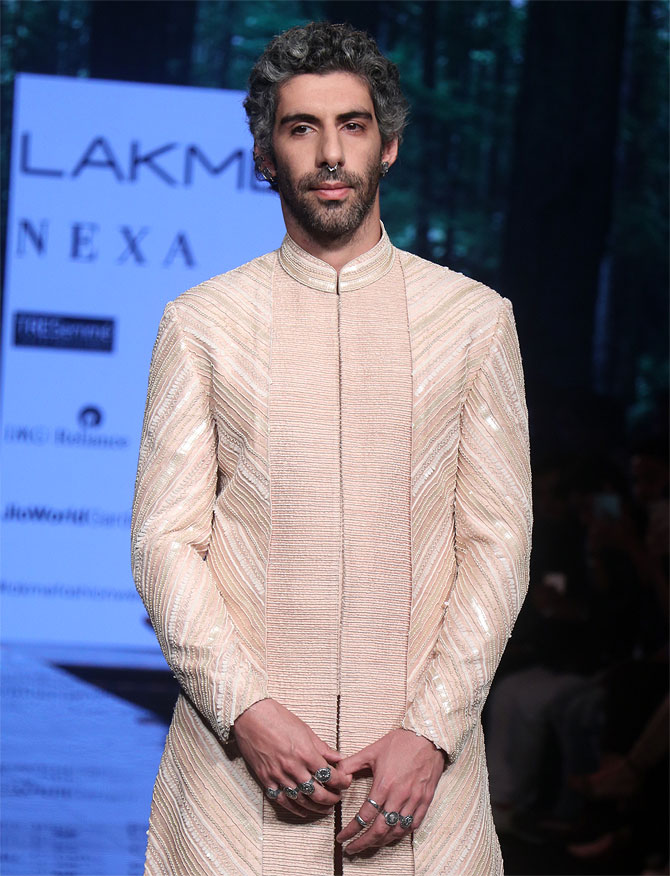 Jim Sarbh walks for Amaare