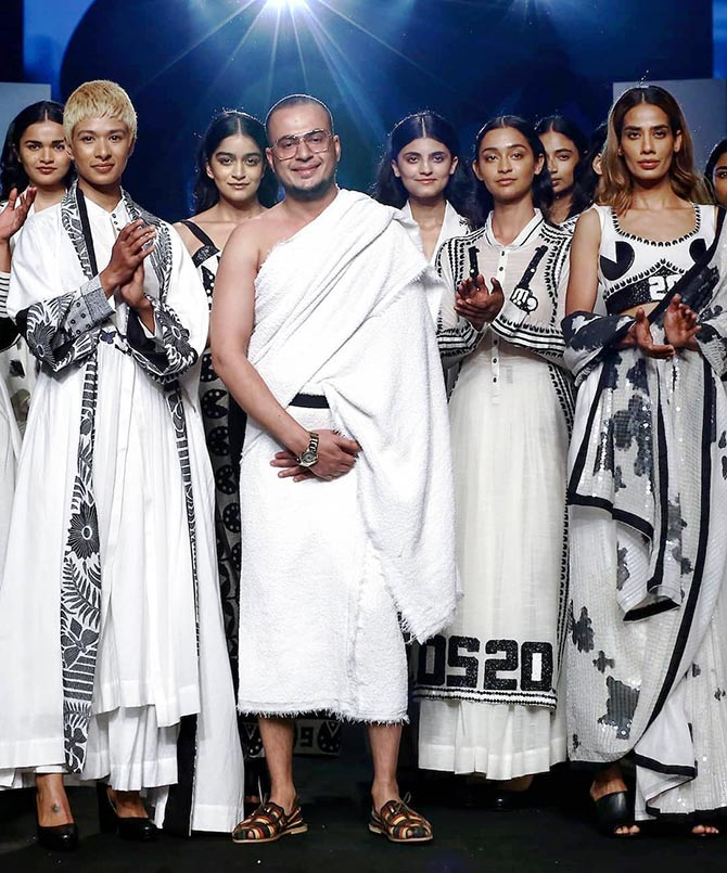 Mohammed Mazher at the Lakme Fashion Week