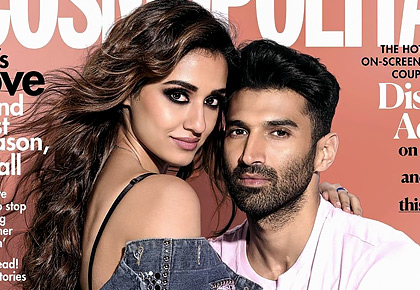 Too sexy to handle! Disha and Aditya turn up the heat
