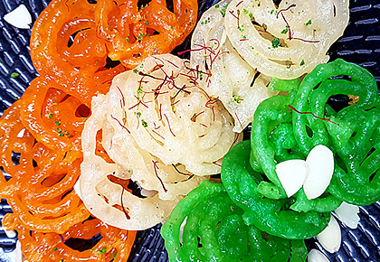 Republic Day Special: How to make a tricolour jalebi