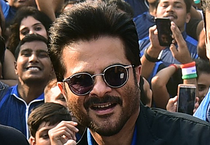 SEE: Anil Kapoor takes the plank challenge