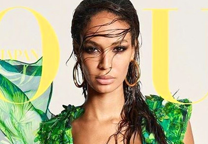 Supermodel Joan Smalls flaunts curves in a sexy bikini
