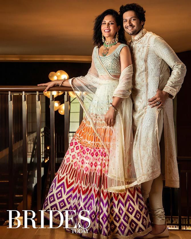 Richa Ali Fazal's pre-wedding photoshoot for Brides Today magazine