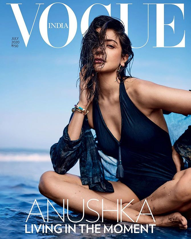 Anushka Sharma on Vogue India's July issue