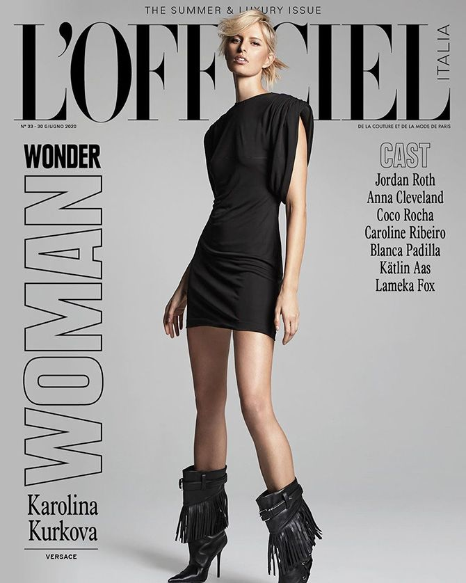 L'Officiel mag cover