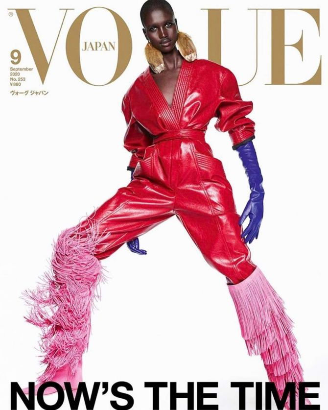 The bold and beautiful models: Vogue Japan September cover