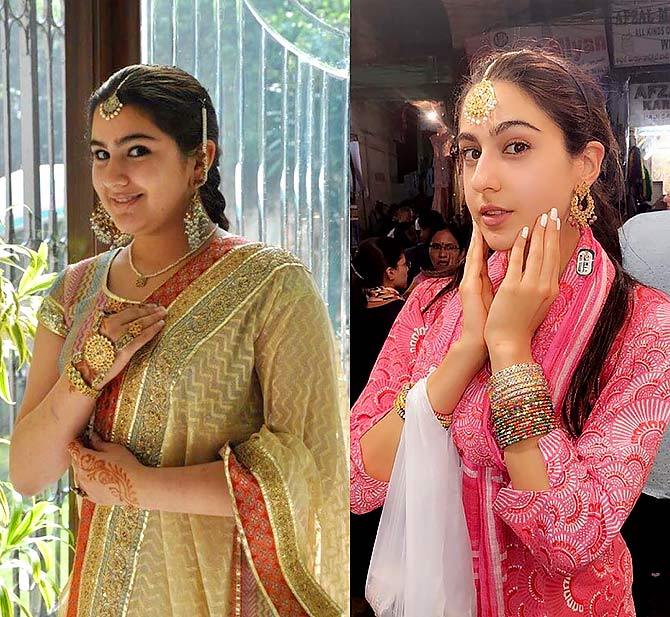 How Sara Ali Khan lost 50 per cent weight
