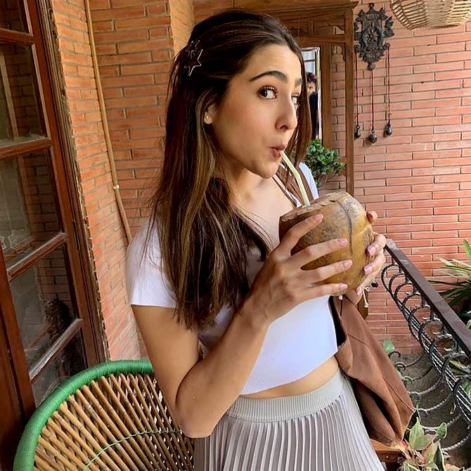 How Sara Ali Khan lost weight