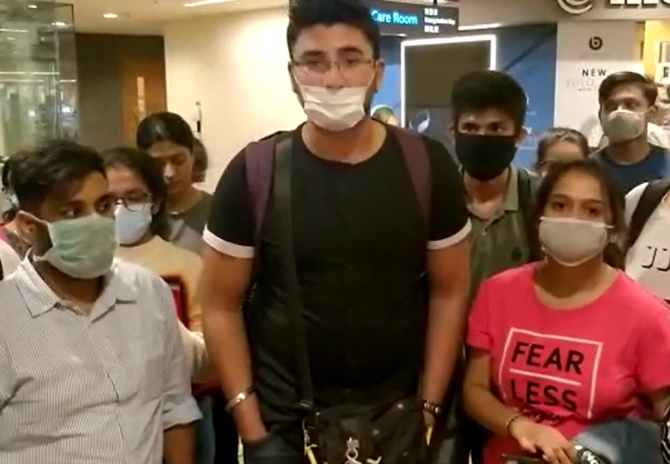 SEE: Stranded Indian students appeal for help