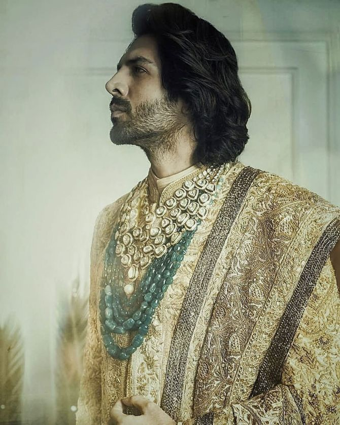 Kartik Aryan for Manish Malhotra
