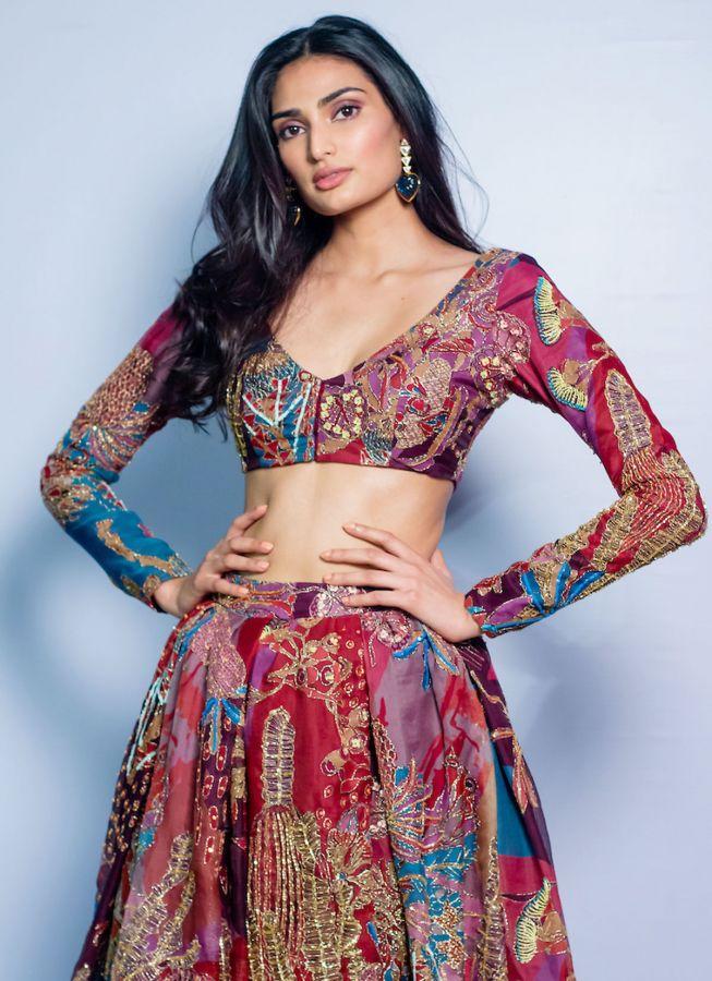 Athiya Shetty for Anisha Rao