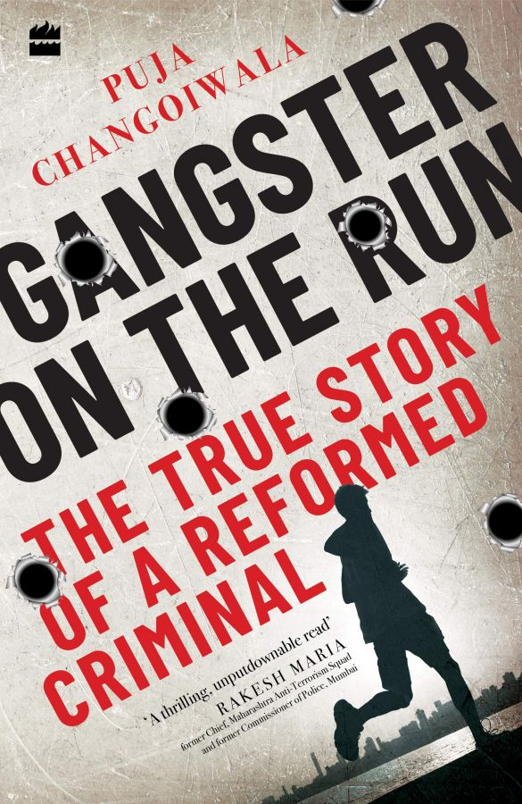 Book cover: Gangster On The Run