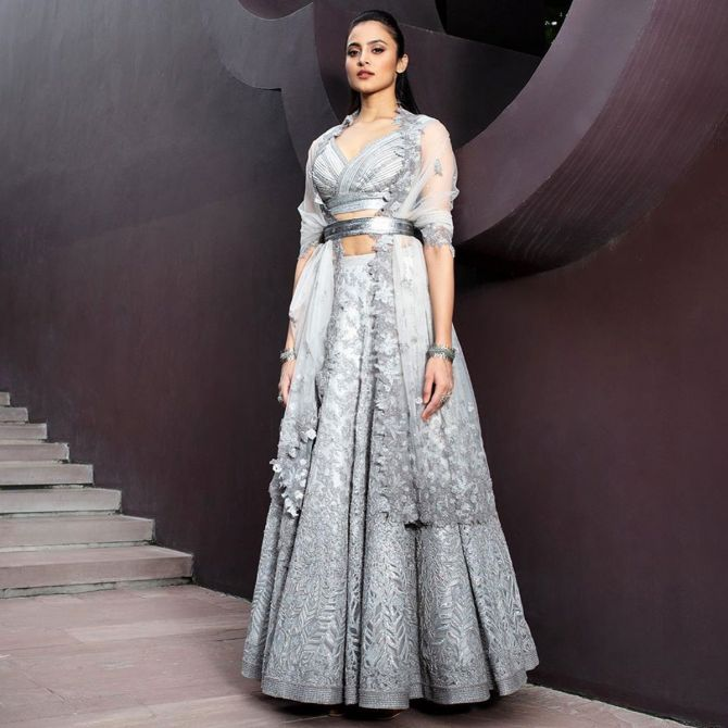 Models in Shantanu and Nikhil at India Couture Week 2020