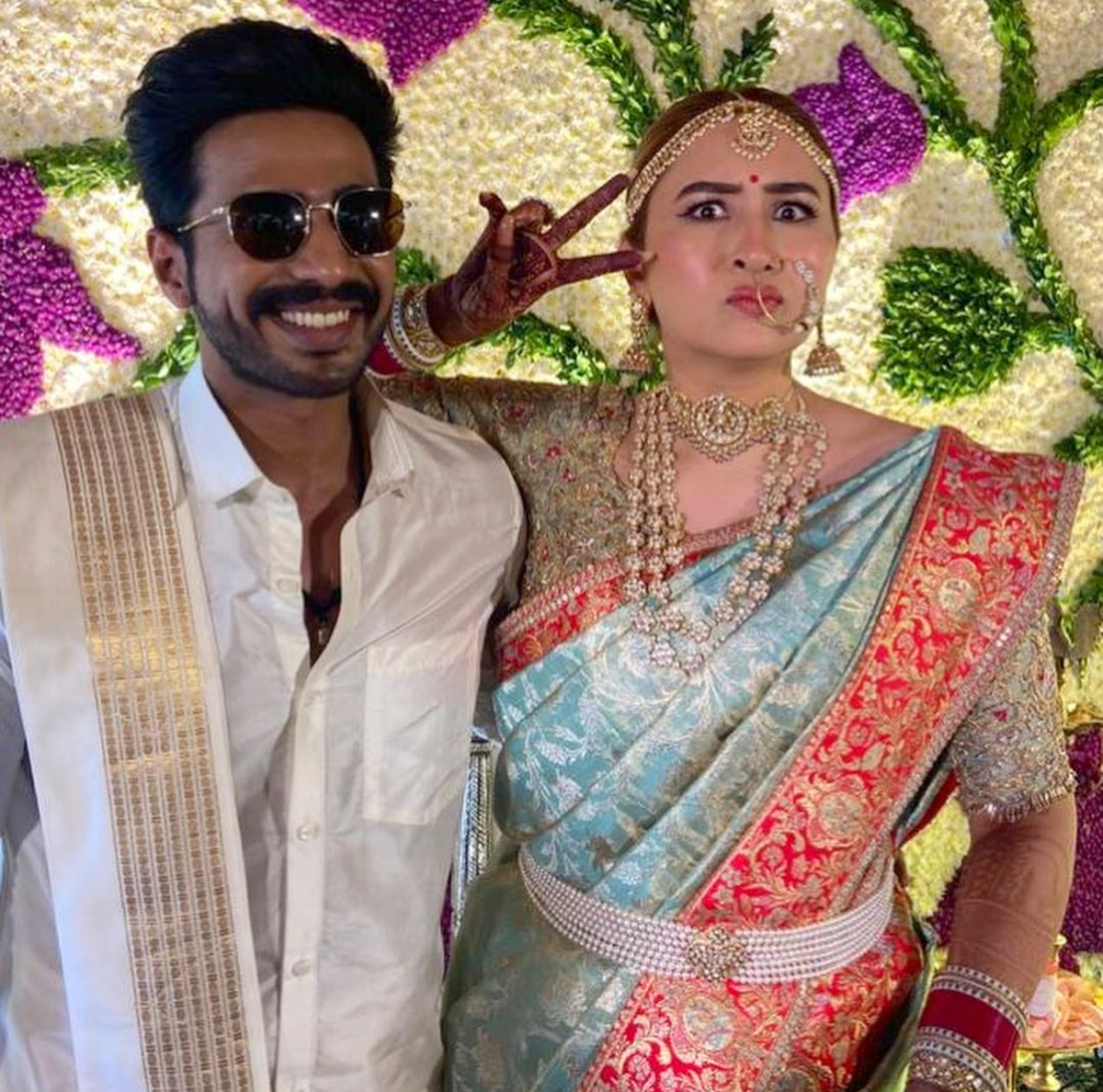 The designer behind Jwala's wedding gown