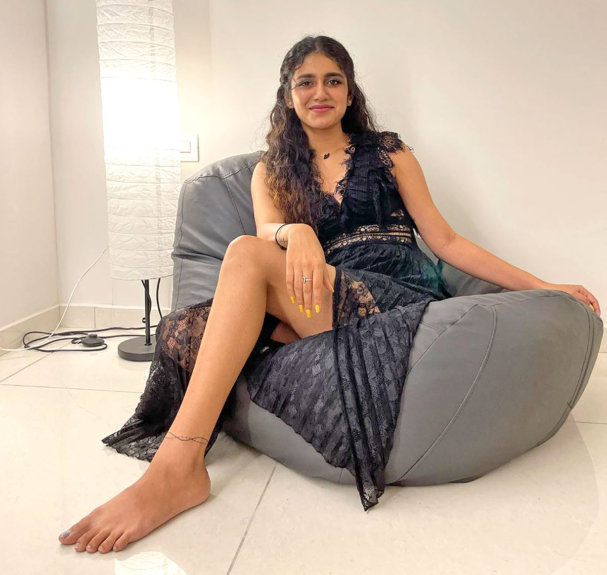 Revealed! Priya Varrier's Style Secrets
