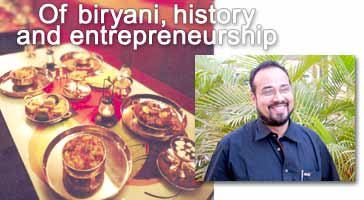 Vishwanath 'Vishy' Shenoy of The Biryani Merchant