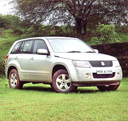 Suzuki Grand Vitara. Photograph, courtesy: Business Standard