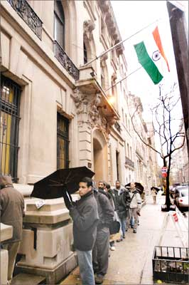 Indian consulate office at NY