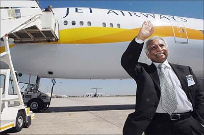 Jet Airways Founder Naresh Goyal who stepped down as the airline's chairman on Monday, March 25, 2019