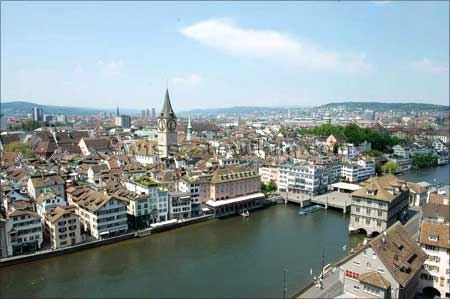 Zurich Is The Largest City In Switzerland