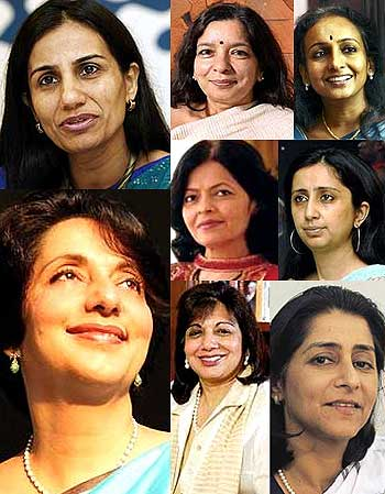 Women CEOs who broke the glass ceiling in India - Rediff.com Business
