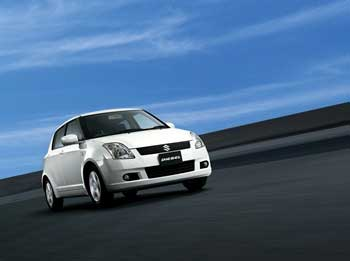 Maruti Swift, a best selling model.