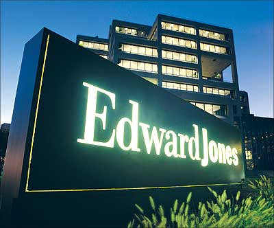Edward Jones headquarters in Manchester, USA.