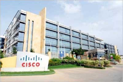 The Cisco Globalisation Centre East campus is spread over a sprawling 1 million square feet.
