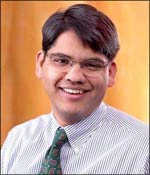 Francisco D' Souza, president and chief executive of Cognizant Technology Solutions. Photograph: Rediff Archives