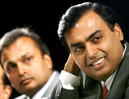 Mukesh Ambani foiled his brother Anil's bid to take over South Africa's mobile operator MTN.