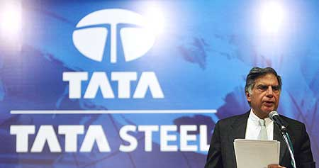 In India's biggest acquisition deal, Ratan Tata spent $12.2 billion to take over steel major Corus.