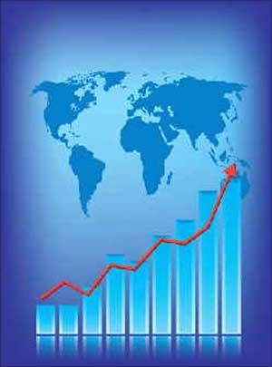 'First signs of growth visible in global economy'