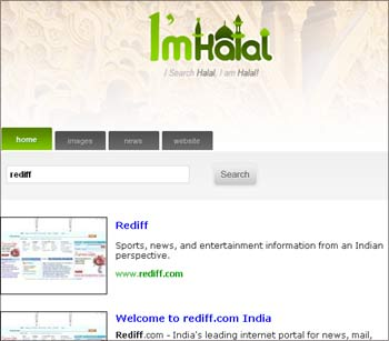 The ImHalal.com search web site.