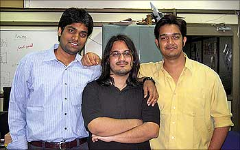 Ankit Mehta with Ashish Bhat and Rahul Singh