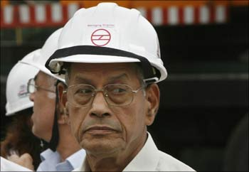 Delhi Metro Rail Corporation chief Elattuvalapil Sreedharan.